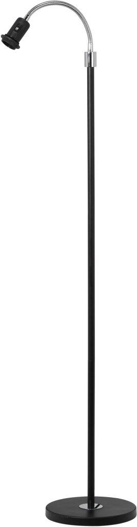 Golvlampa Cia enarmad svart
